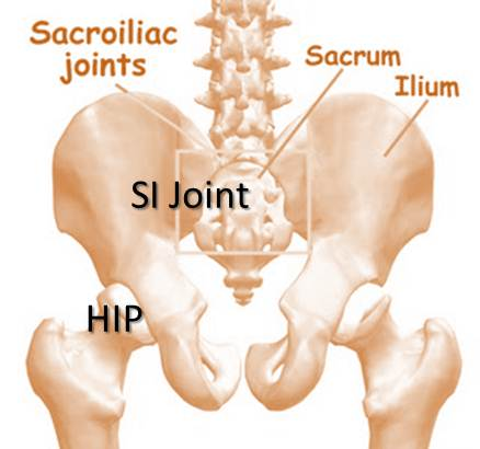 back of hip pain